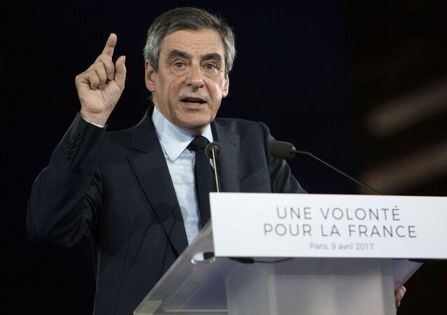 Kandydat na prezydenta Francji François Fillon