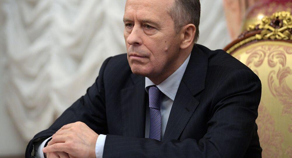 Dyrektor Federalnej Służby Bezpieczeństwa Rosji Aleksander Bortnikow