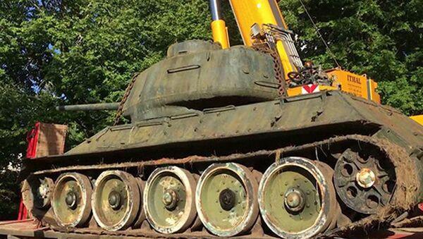 Czołg T-34-85 z kolekcji Mikka Lõhmusa - Sputnik Polska