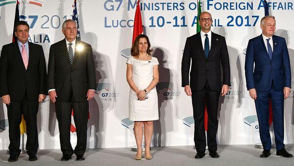 Szczyt G7 2017 - Sputnik Polska