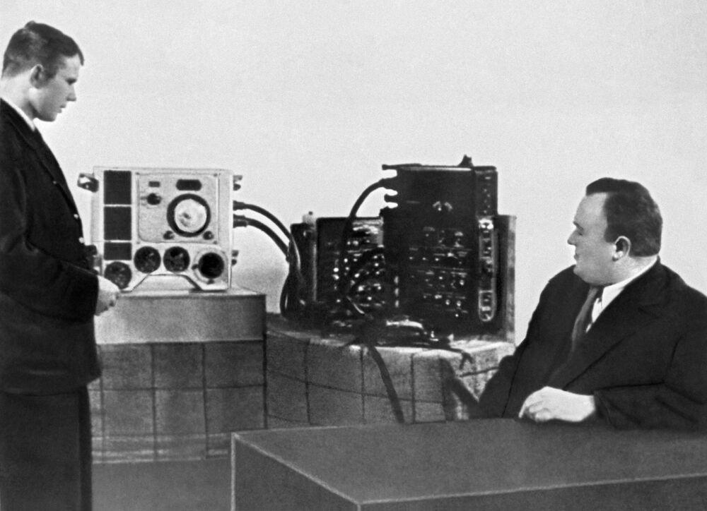 Jeden z kandydatów na kosmonautę Jurij Gagarin