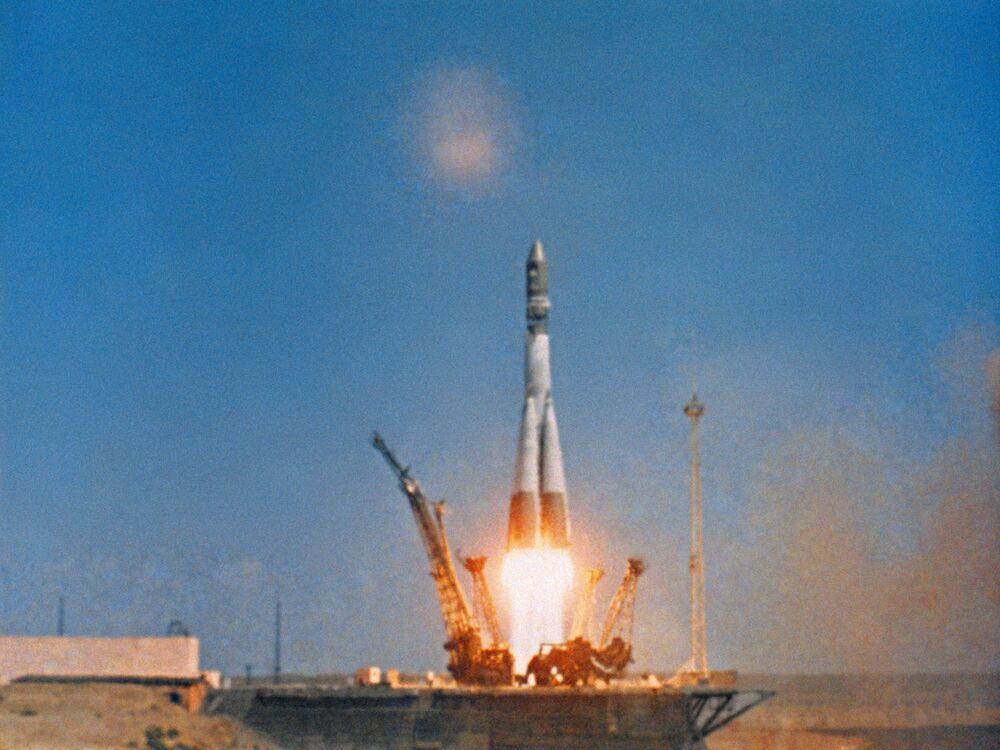 Start statku kosmicznego Wostok-1