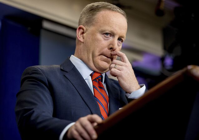 Rzecznik prasowy Białego Domu Sean Spicer