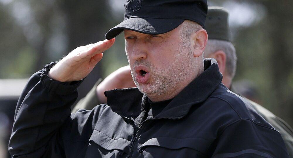 Sekretarz Rady Bezpieczeństwa Narodowego i Obrony Ołeksandr Turczynow