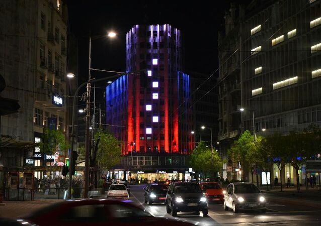 Belgrad nocą