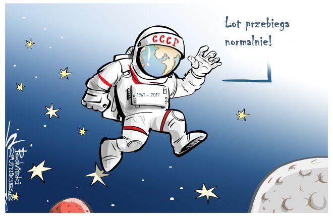 56. rocznica pierwszego lotu człowieka w kosmos