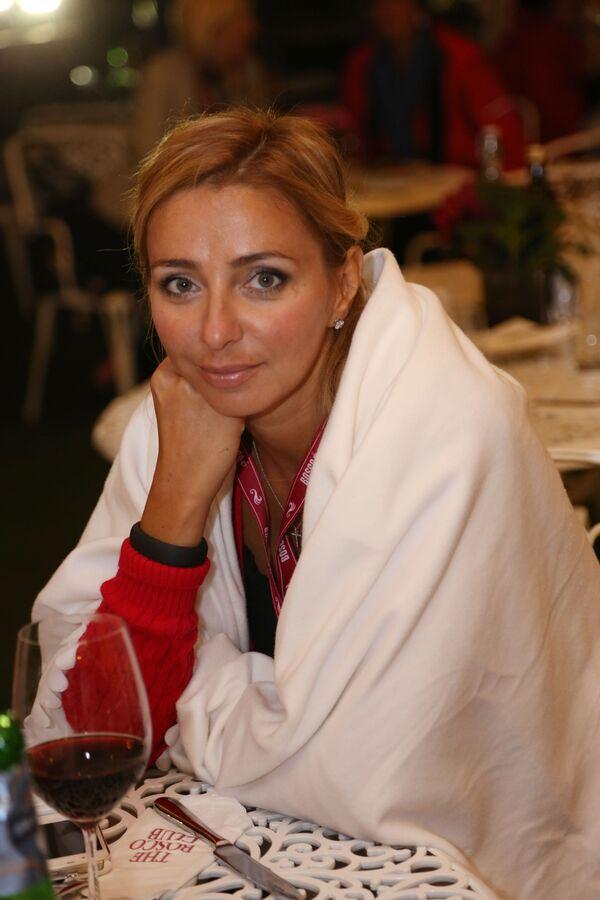 Łyżwiarka Tatjana Nawka w Bosco Club w Londynie. - Sputnik Polska
