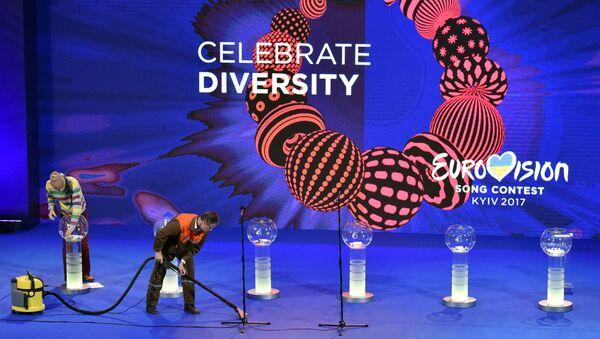 Przygotowania do konkursu Eurowizji-2017 w Kijowie - Sputnik Polska