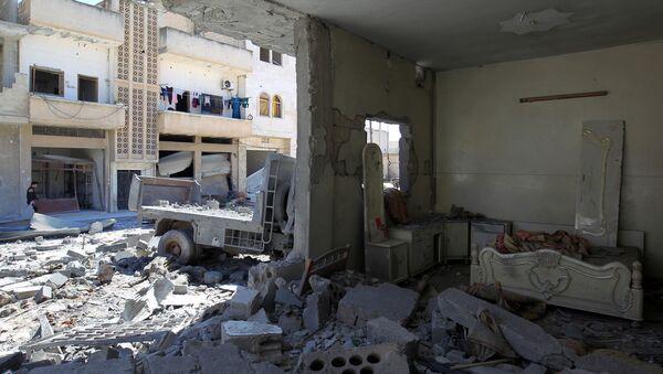 Syryjskie miasto Chan Szajchun w prowincji Idlib - Sputnik Polska