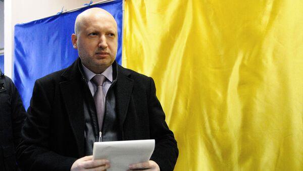 Sekretarz Rady Bezpieczeństwa Narodowego i Obrony Ukrainy Ołeksandr Turczynow - Sputnik Polska