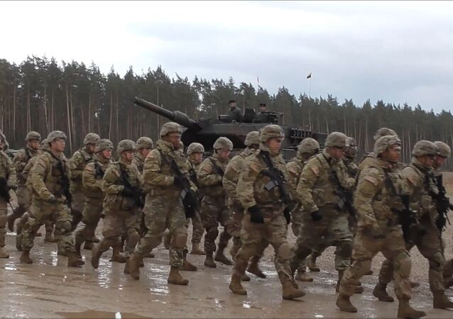 Przybycie wojsk NATO do Polski