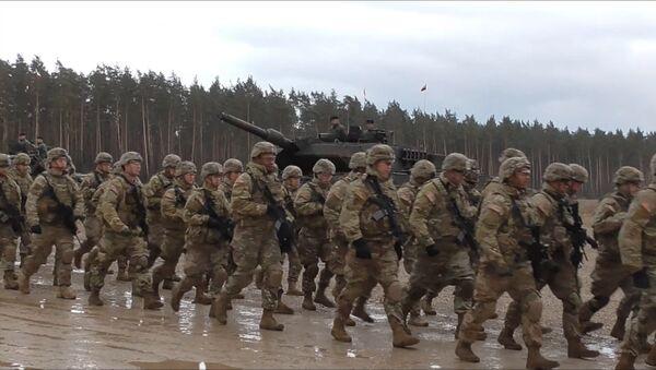 Przybycie wojsk NATO do Polski - Sputnik Polska