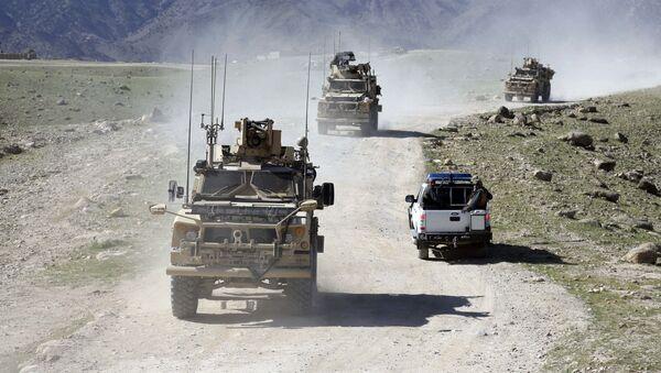 Patrol amerykańskich i afgańskich żołnierzy - Sputnik Polska