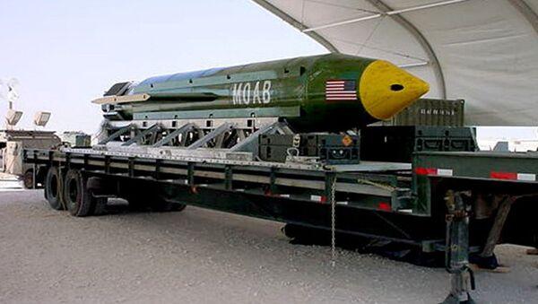 Superbomba GBU-43 - Sputnik Polska