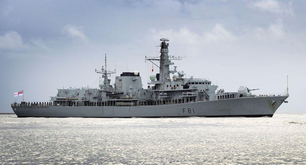 Brytyjski okręt patrolowy Sutherland