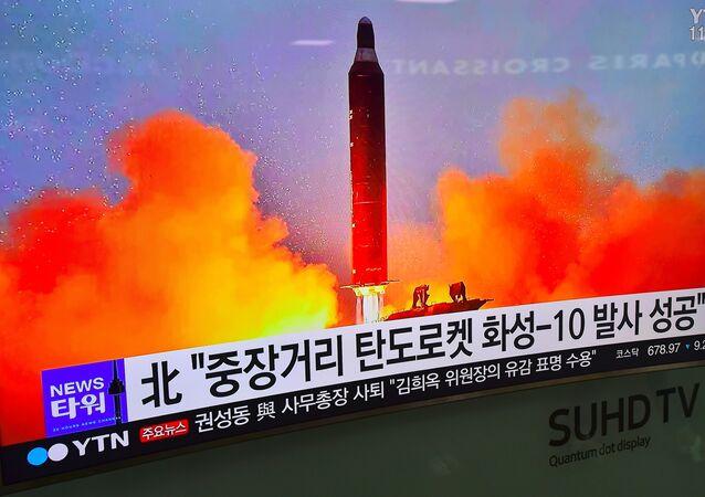 Korea Północna dokonała w niedzielę rano czasu lokalnego nieudanej próby wystrzelenia pocisku balistycznego
