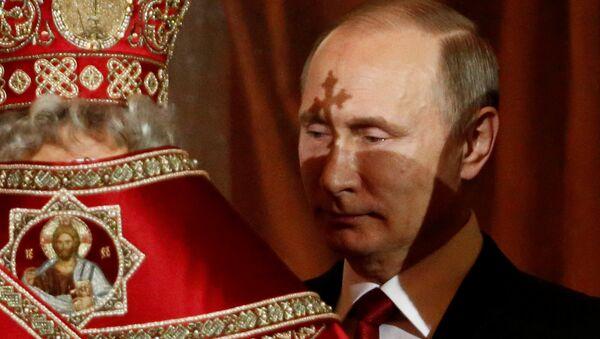 Putin złożył Rosjanom życzenia z okazji Wielkanocy - Sputnik Polska