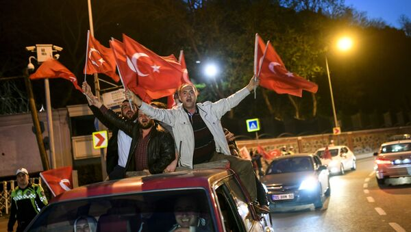 Referendum w Turcji - Sputnik Polska