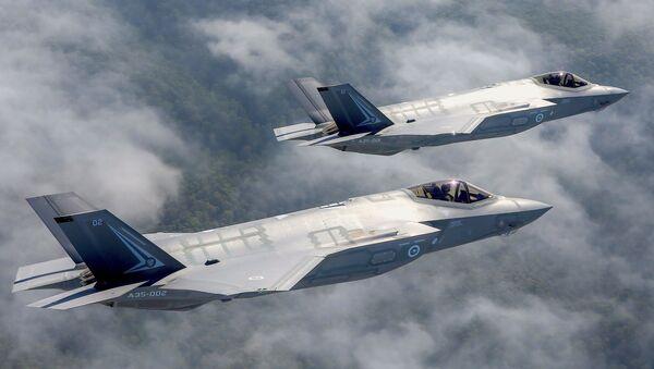Lockheed Martin F-35 Lightning II - Sputnik Polska