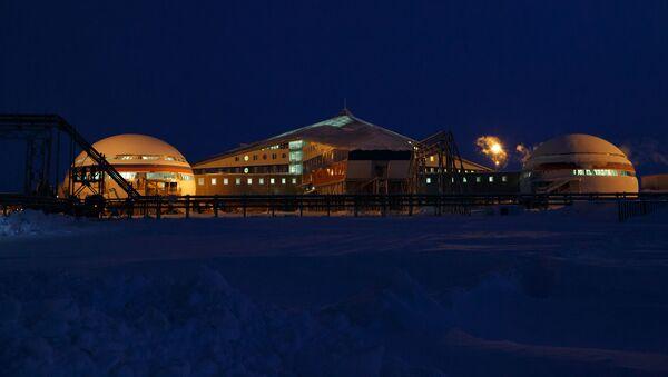 Российская военная база Арктический трилистник на острове Земля Александры архипелага Земля Франца-Иосифа - Sputnik Polska