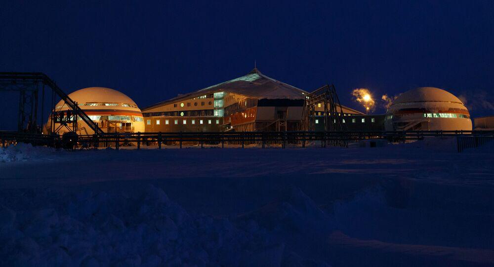 Rosyjska baza wojskowa Arktyczny Shamrock