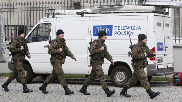 Samochód TVP  - Sputnik Polska