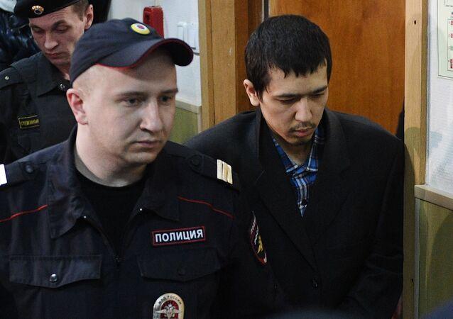 Domniemany organiator zamachu w petersburskim metrze Abror Azimow