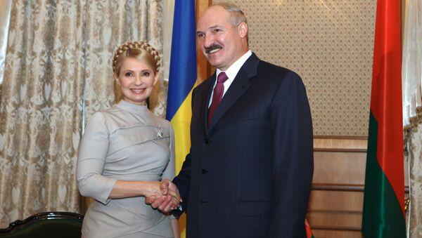 Julia Tymoszenko i Aleksandr Łukaszenka - Sputnik Polska