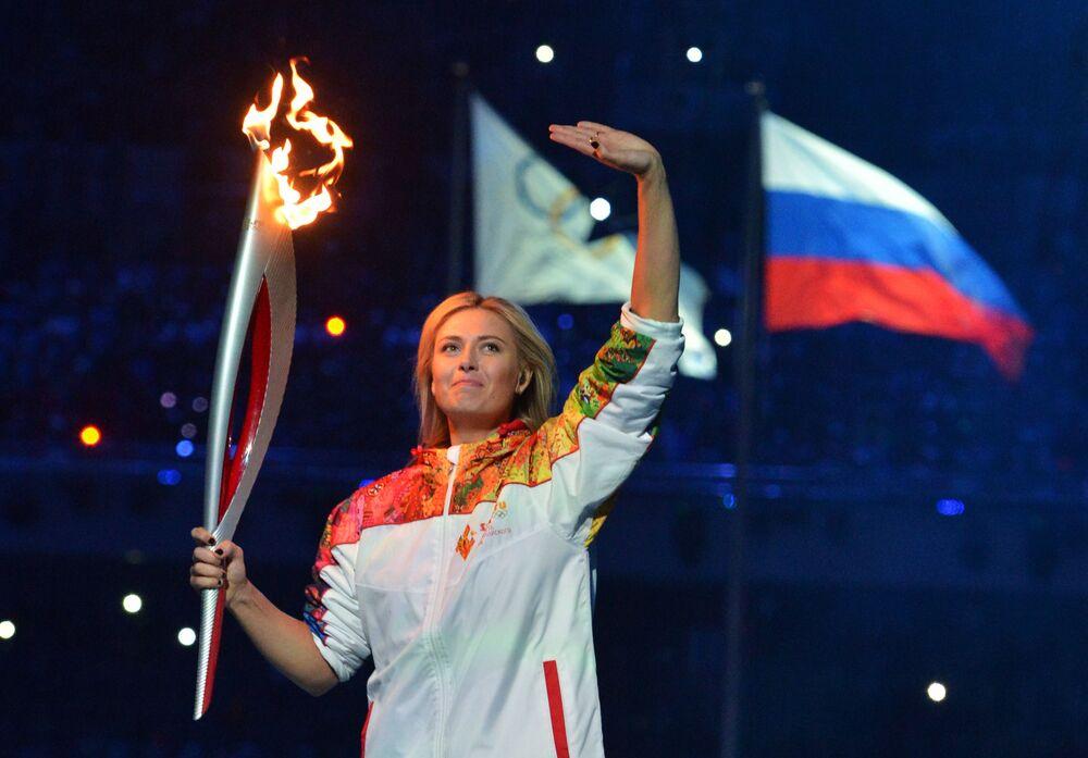 Złota Maria Szarapowa