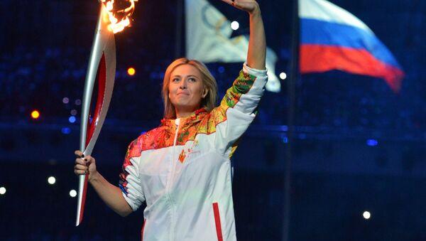 Maria Szarapowa, Soczi - Sputnik Polska