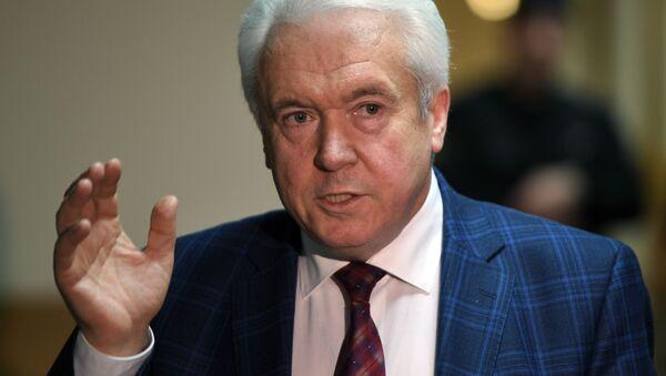 Były deputowany Rady Najwyższej Ukrainy Wołodymyr Olejnik - Sputnik Polska