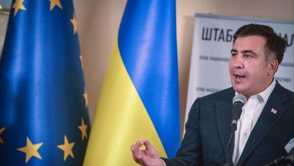Były prezydent Gruzji Michaił Saakaszwili - Sputnik Polska