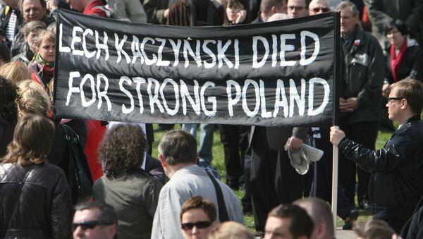 Pożegnanie z ofiarami katastrofy smoleńskiej - Sputnik Polska