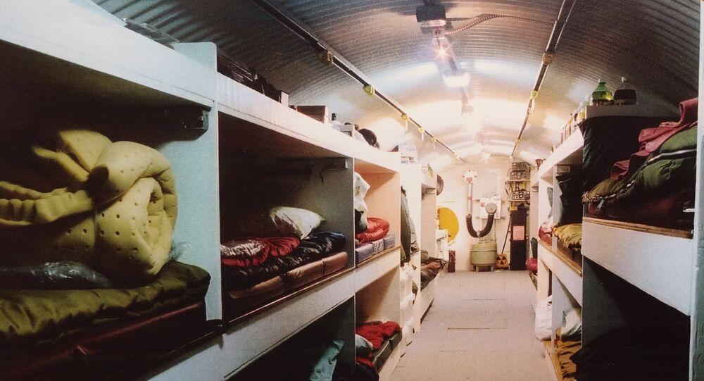 Bunker od Utah Shelter Systems, USA