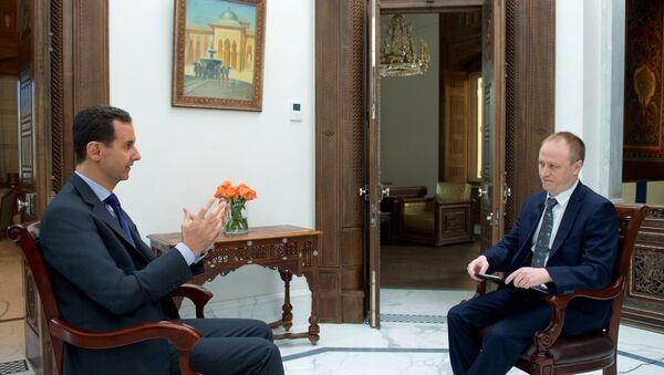 Asad w wywiadzie na wyłączność dla Sputnika - Sputnik Polska