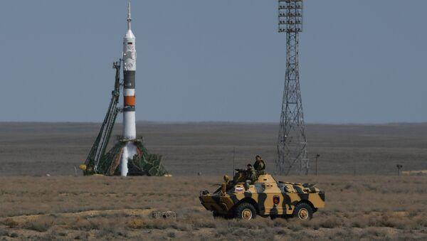 Sojuz FG na Bajkonurze - Sputnik Polska