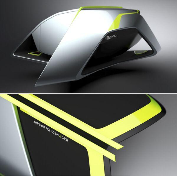 Изображение финального проекта, созданного в рамках конкурса Lada 2050 — видение мобильности будущего - Sputnik Polska