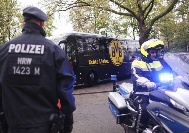 Niemiecka policja zatrzymała mężczyznę podejrzanego o zamach na autokar piłkarzy klubu Borussia Dortmund