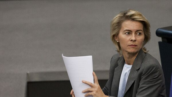 Ursula von der Leyen - Sputnik Polska