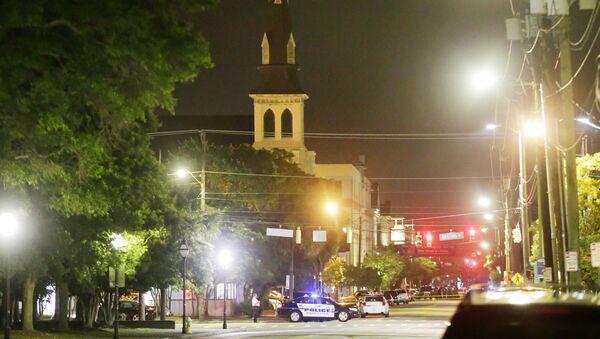 Kościół w Charleston, gdzie miała miejsce strzelanina - Sputnik Polska