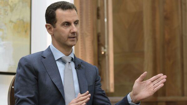 Prezydent Syrii Baszar al-Asad - Sputnik Polska
