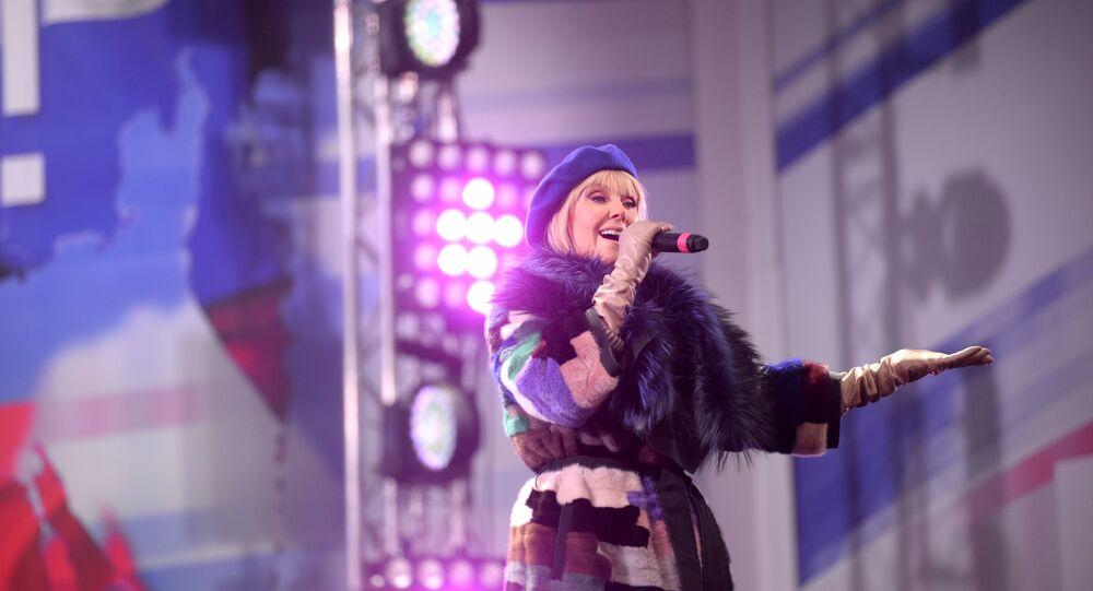 Rosyjska piosenkarka Waleria
