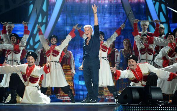 Piosenkarz Oleg Gazmanow na koncercie w Soczi - Sputnik Polska