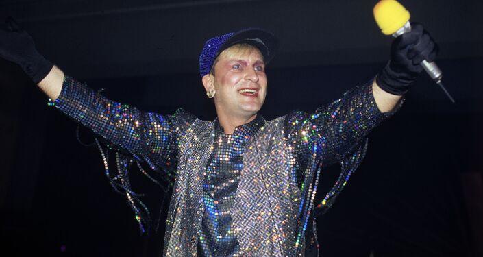 Piosenkarz Siergiej Pienkin