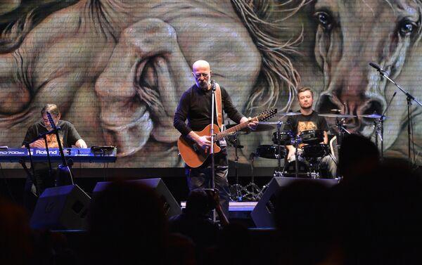 Aleksander Rozenbaum podczas koncertu w Moskwie - Sputnik Polska