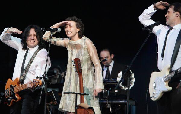 Julia Cziczerina podczas koncertu w Moskwie - Sputnik Polska