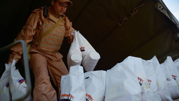 Pomoc humanitarna - Sputnik Polska