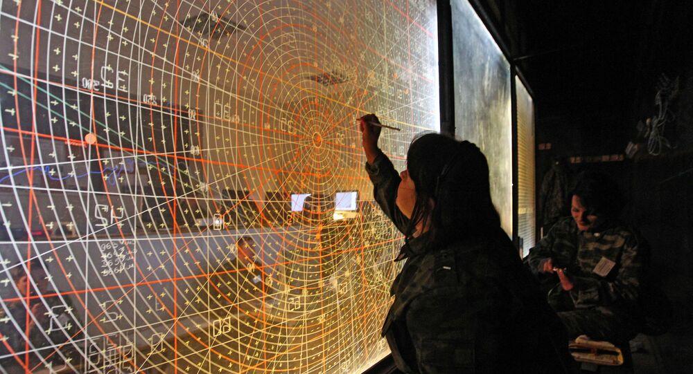 Punkt dowódczy zarządzania szkoleniami wojsk obrony przeciwlotniczej na poligonie Aszułuk w obwodzie astrachańskim
