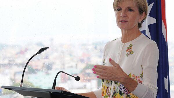 Szefowa MSZ Australii Julie Bishop - Sputnik Polska