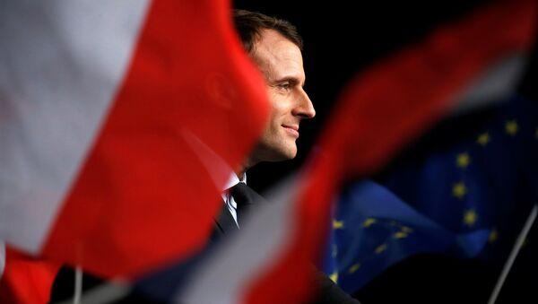 Emmanuel Macron - Sputnik Polska